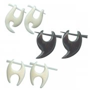 Bone & Horn Jungle Earrings New Collection <b>($1.40 Each)</b>