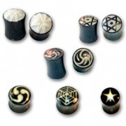 Bone & Horn Flared Ear Plugs New Collection <b>($1.76 Each)</b>