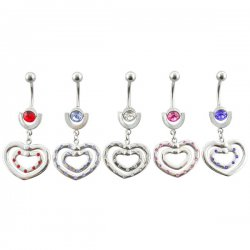 NEW! 2 Up-or-Down Rotating Hearts <B>($1.65 Each)</b>