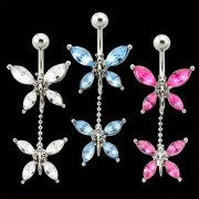 Gem Dangling Navel Banana Dragonflies <B>($0.99 Each)</b>