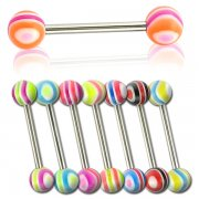 UV Waves Tongue Barbell <B>($0.15 Each)</B>