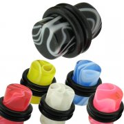 UV Marble Ear Plug <B>($0.16 Each)</B>