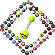 Logos Mega Pack - UV Tongue Barbell <B>($0.45 Each)</b>