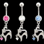 Sweetie Kitty Navel Ring <B>($0.99 Each)</b>