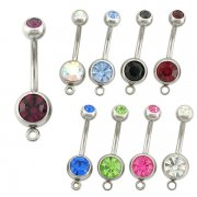 Add your own charm Navel Rings ($0.55 Each)