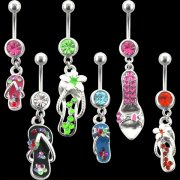 Footwear Collection Belly Rings <B>($0.99 Each)</b>