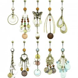South American Navel Rings Collection <b>($1.23 Each)</b>