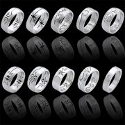 316L Surgical Steel Rings Design Bands Part II <b>($0.99 Each)</b>