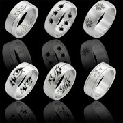 316L Surgical Steel Rings Design Bands Part IV <b>($0.99 Each)</b>